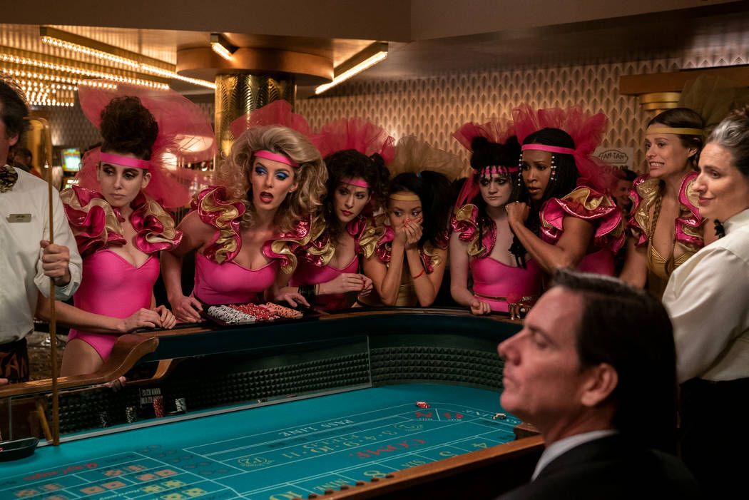 The wrestlers try their luck on the floor of the Fan-Tan Hotel and Casino in the new season of ...