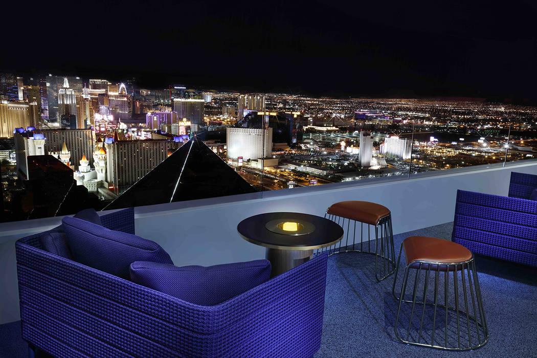 Skyfall Lounge atop The Delano Las Vegas (Las Vegas Review-Journal)