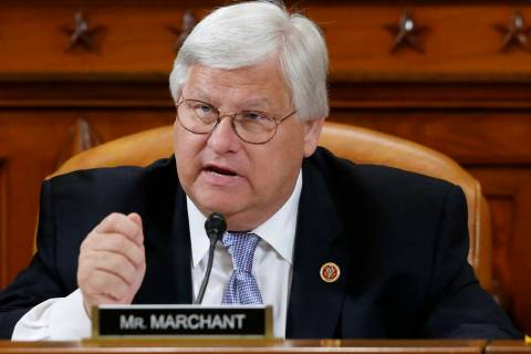 In a May 17, 2013, file photo, Rep. Kenny Marchant, R-Texas speaks on Capitol Hill in Washingto ...