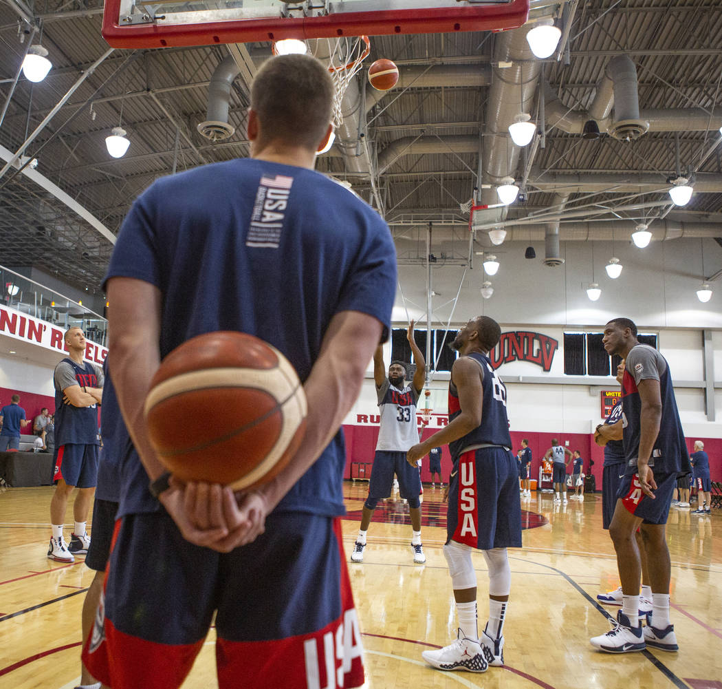 newest collection 3ab38 515ba USA Basketball training camp begins in Las Vegas | Las Vegas ...