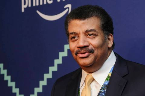 File-This May 13, 2019, file photo shows Neil Degrasse Tyson attending the 23rd annual Webby Aw ...
