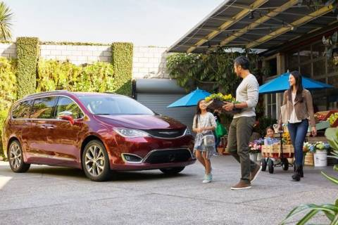 The highly capable 2019 Chrysler Pacifica is the perfect family vehicle. (Chrysler)