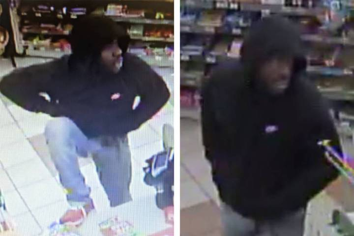 Police are looking for this man suspected in a robbery Thursday, July 25, 2019, on the 500 bloc ...