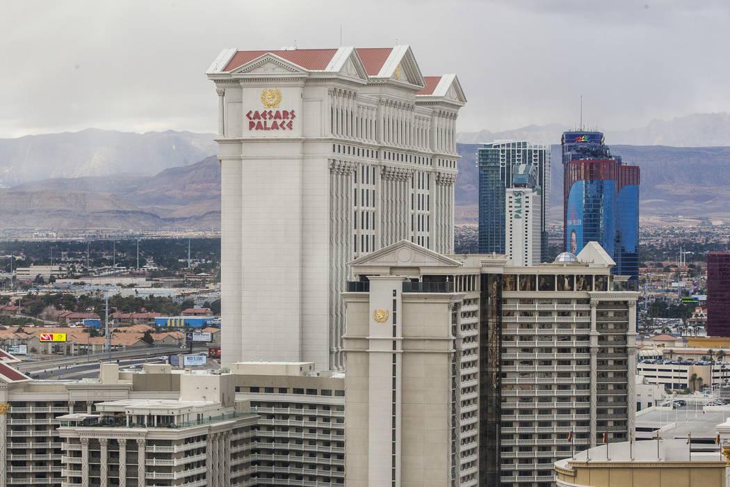 Caesars Palace in Las Vegas. (Patrick Connolly/Las Vegas Review-Journal) @PConnPie