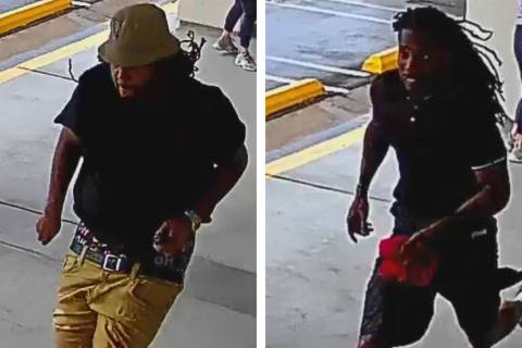 Police are looking for these two men suspected of an assault during an attempted armed robbery ...
