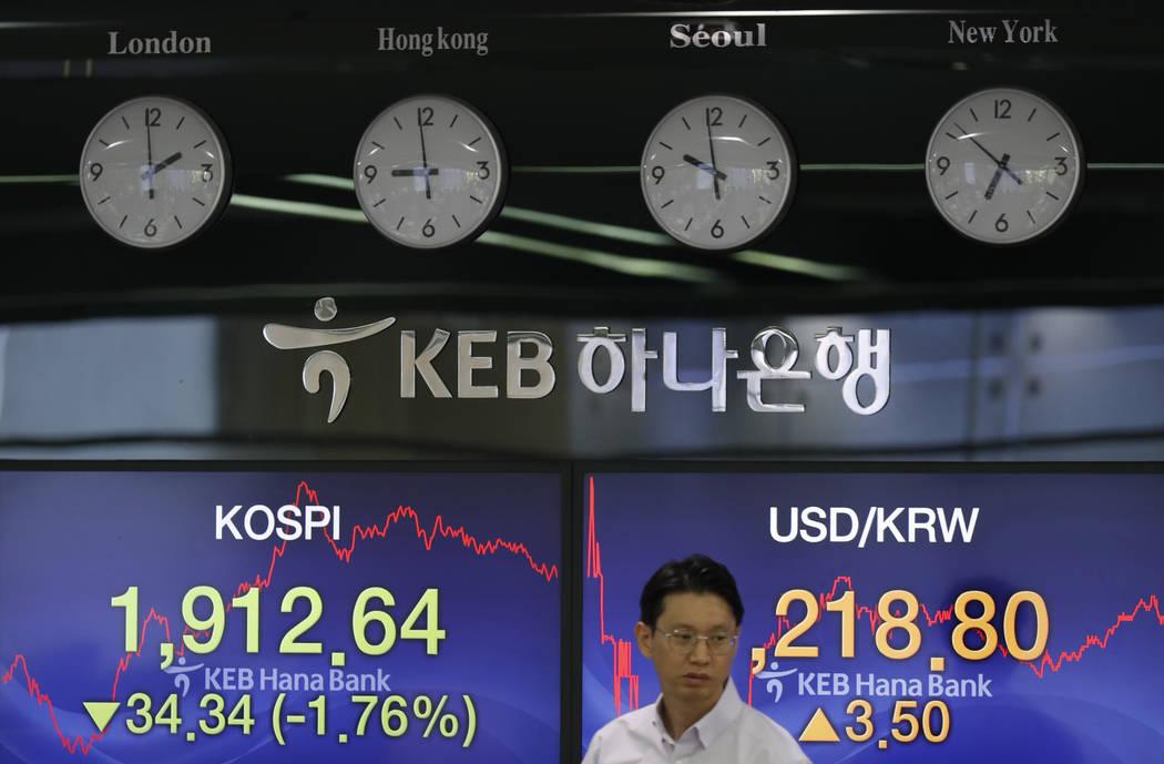 Most stocks rebounding as China stabilizes yuan | Las Vegas Review