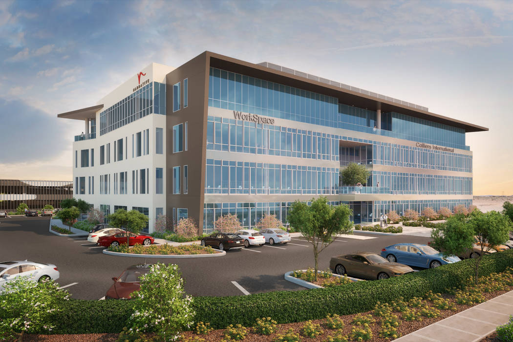Brokerage firm Colliers International expects to move its local headquarters to a planned Las V ...