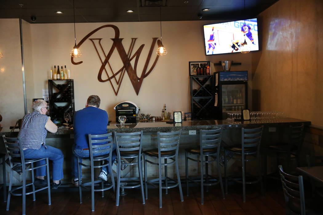 Vegas Valley Winery in Henderson, Saturday, April 13, 2019. (Erik Verduzco/Las Vegas Review-Jou ...