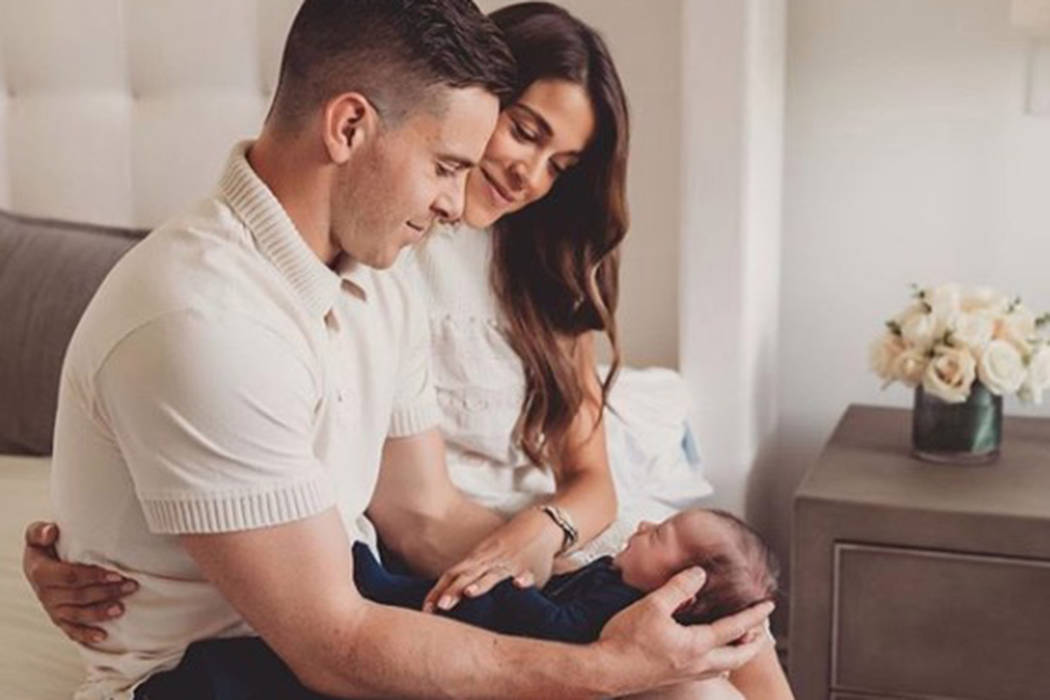 Jonathan Marchessault announced on Instagram Tuesday he and his wife welcomed a baby boy on Jul ...
