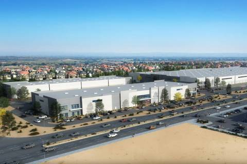 Developer Matter Real Estate Group said it broke ground on a 725,000-square-foot industrial pro ...