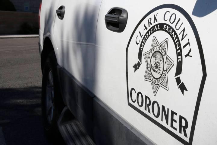 Clark County coroner's office (Bizuayehu Tesfaye/Las Vegas Review-Journal @bizutesfaye)