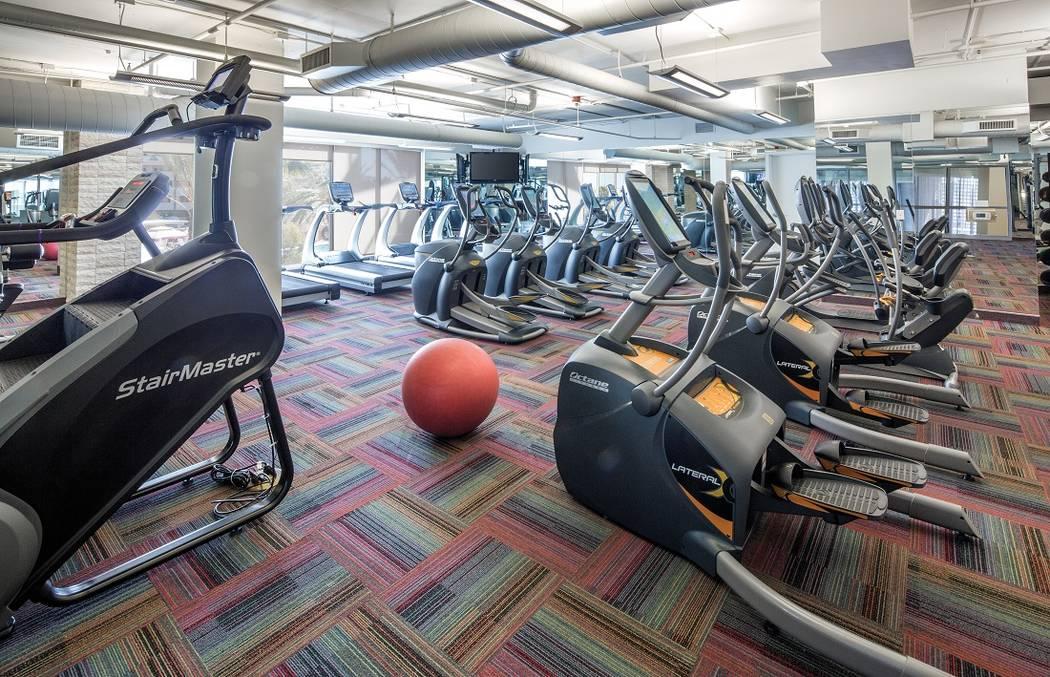 One Las Vegas has a gym. (One Las Vegas)