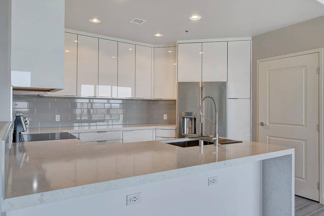 Residence No. 1919 at One Las Vegas home measures 2,098 square feet. (One Las Vegas)