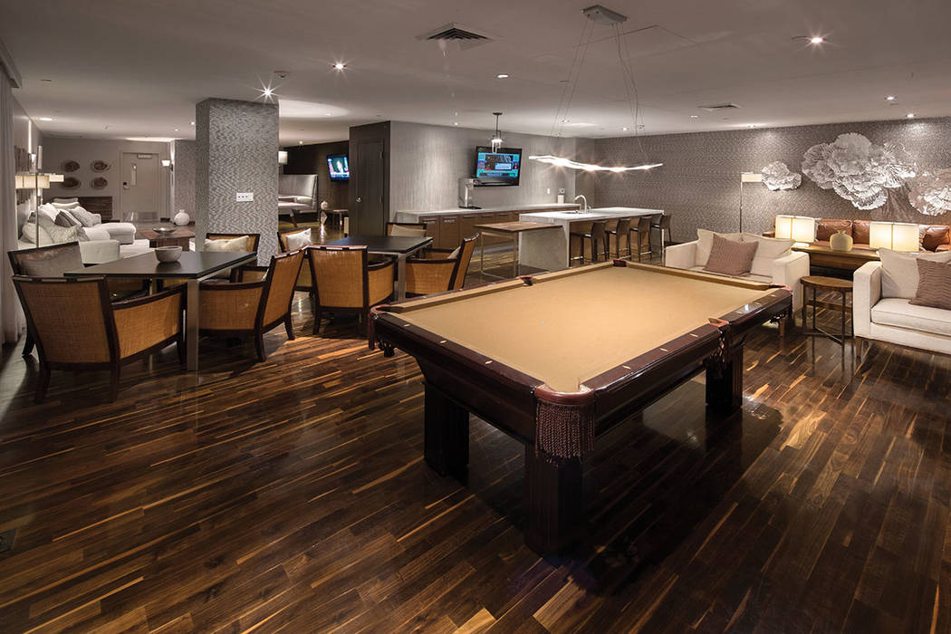 One Las Vegas features a game room. (One Las Vegas)