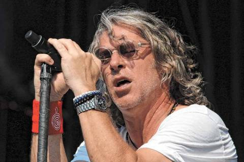 Ed Roland with Collective Soul performs during Music Midtown 2017 at Piedmont Park on Sunday, S ...