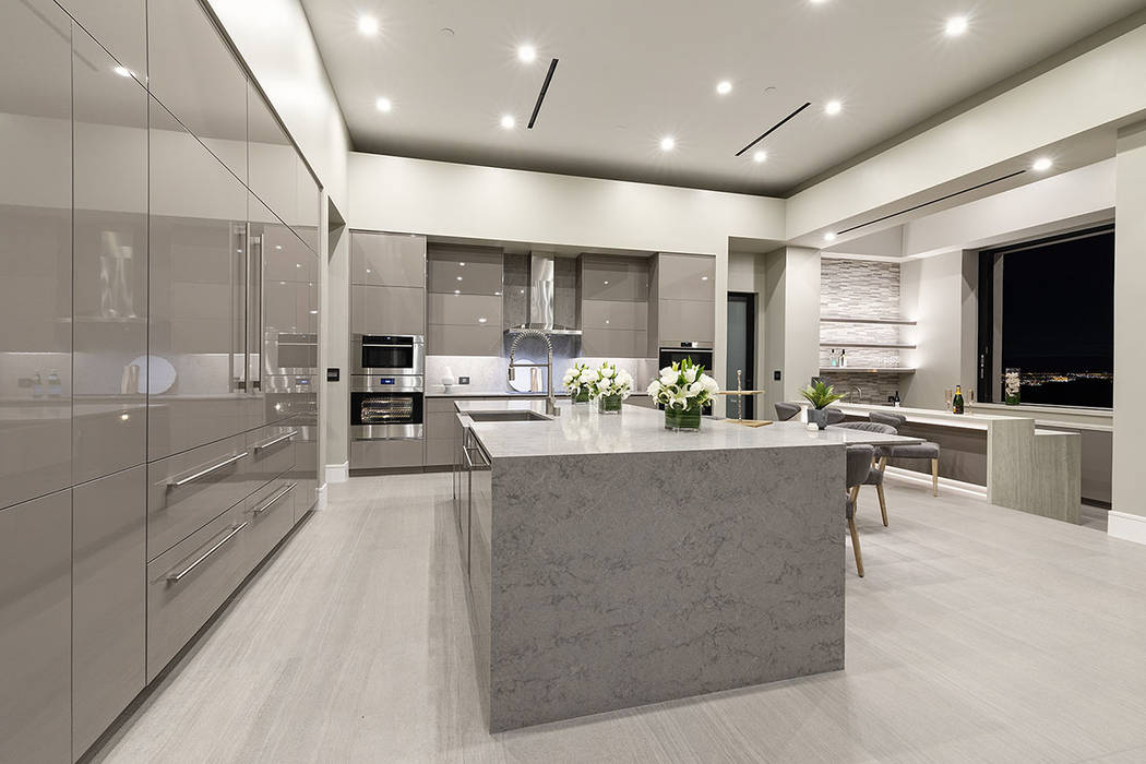 The kitchen has all the latest appliances. (Synergy Sotheby's International Realty)