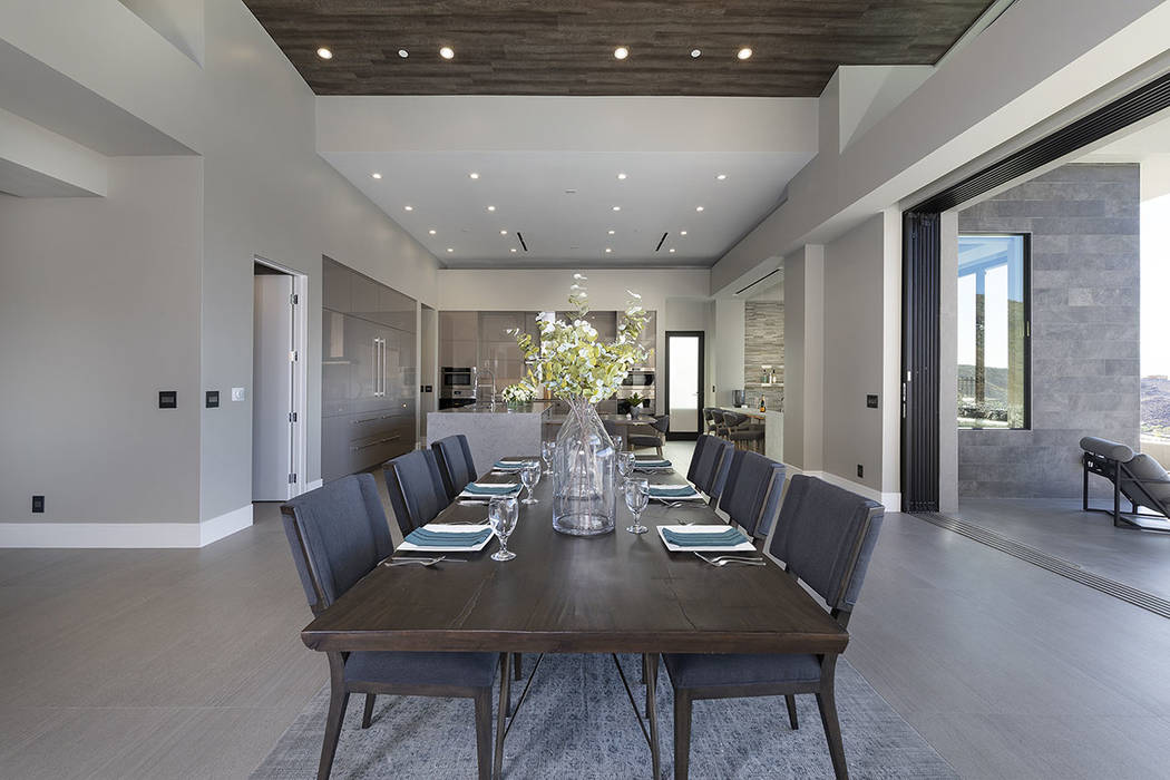The dining area. (Synergy Sotheby's International Realty)