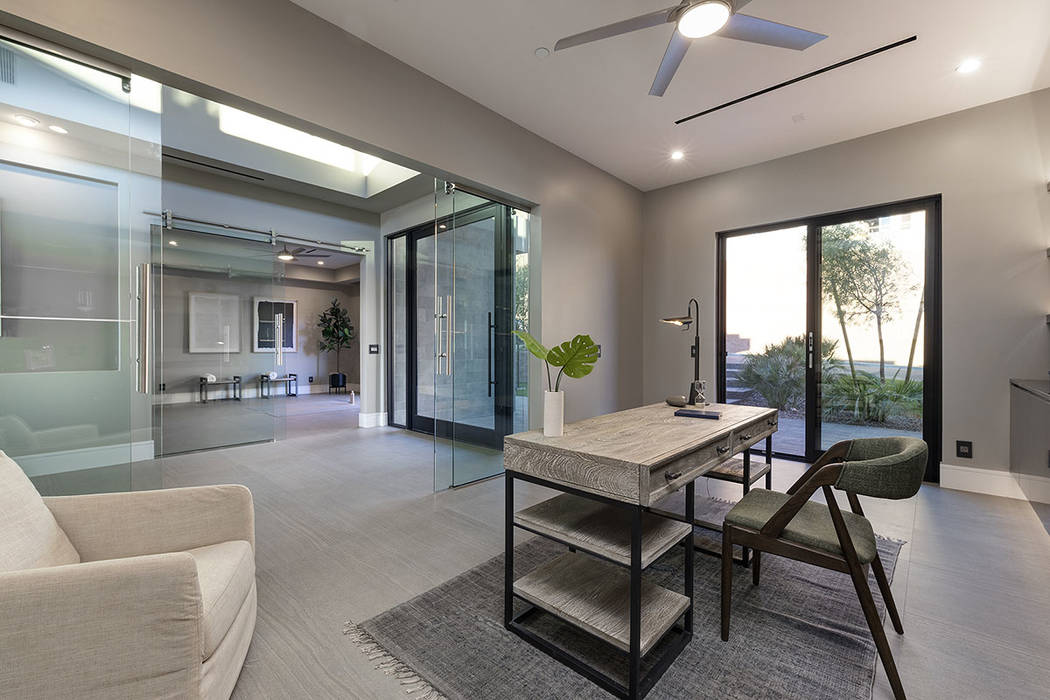 The office. (Synergy Sotheby's International Realty)