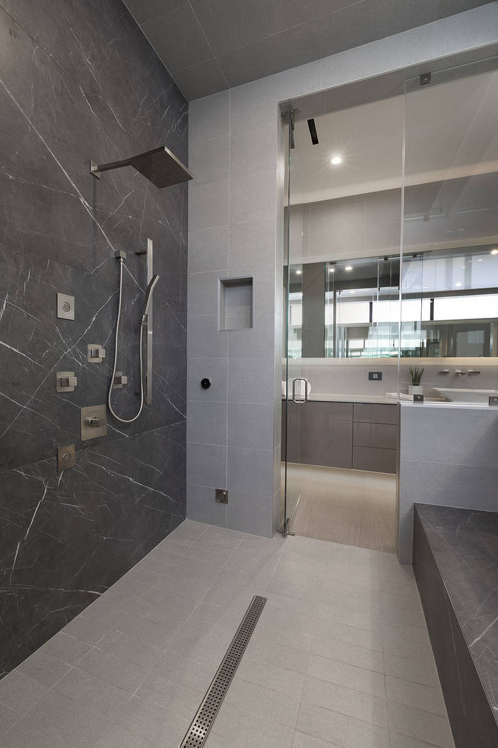 The master shower. (Synergy Sotheby's International Realty)