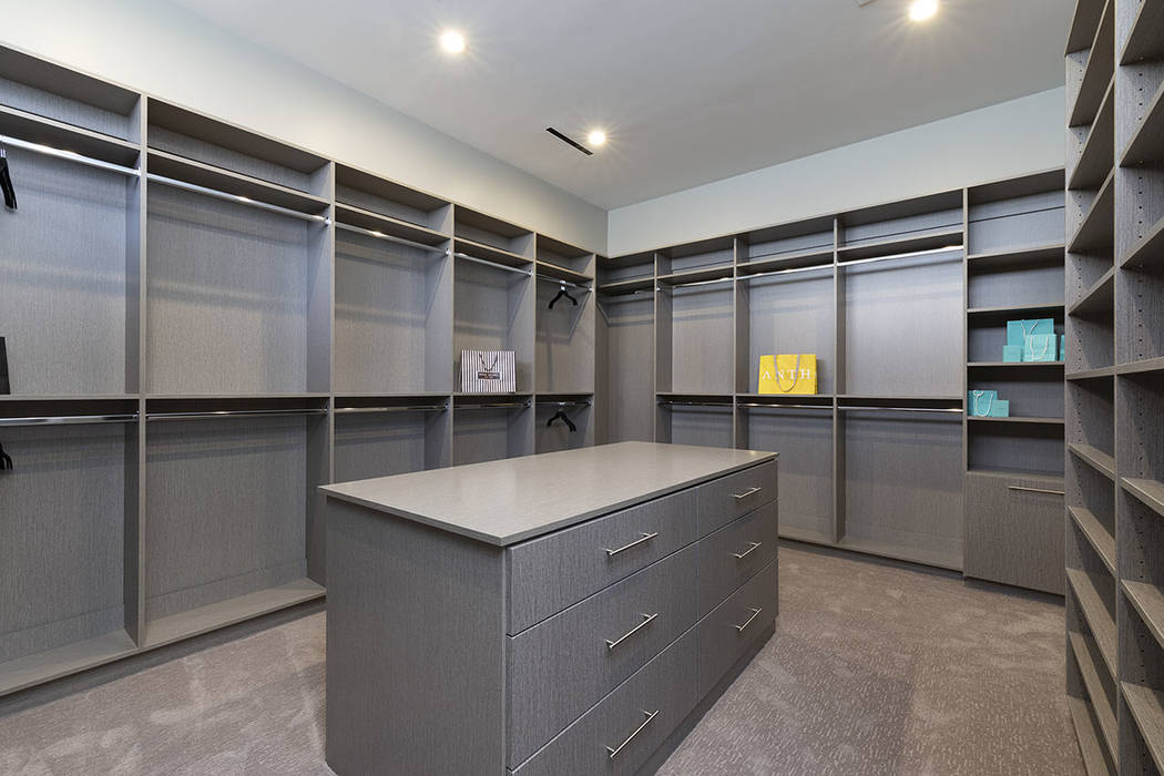 The closet is large. (Synergy Sotheby's International Realty)