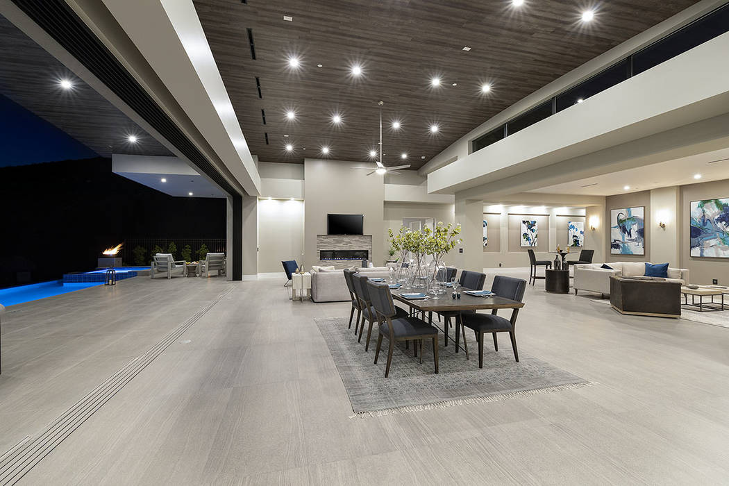 The home has a modern design. (Synergy Sotheby's International Realty)