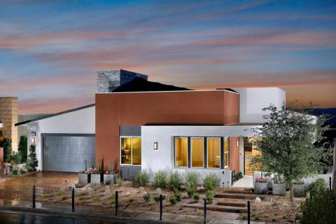 Axis by Pardee in Henderson sold 12 homes priced at $1 million and more so far this year. (Bass ...