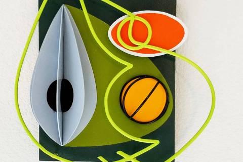 """""""Guacamole,"""" by Ken Farkash, at Priscilla Fowler Fine Art."""