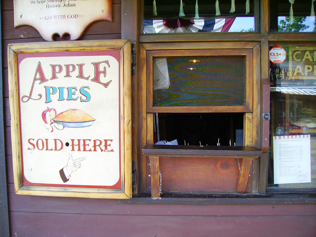 You can easily get your fill of apples and apple pie in Julian, California. (Deborah Wall/Las V ...