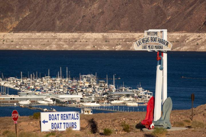 A teenager died Saturday in a boating accident at the Lake Mead National Recreation Area, pictu ...