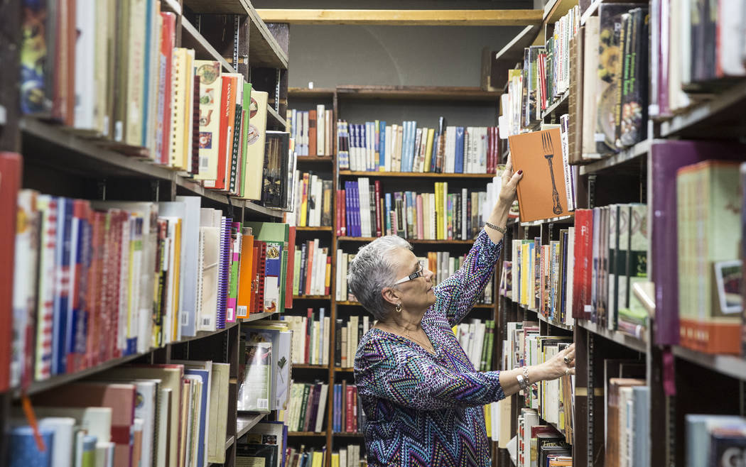 Amber Unicorn Books owner Myrna Donato has collected thousands of cookbooks over the past 38 ye ...