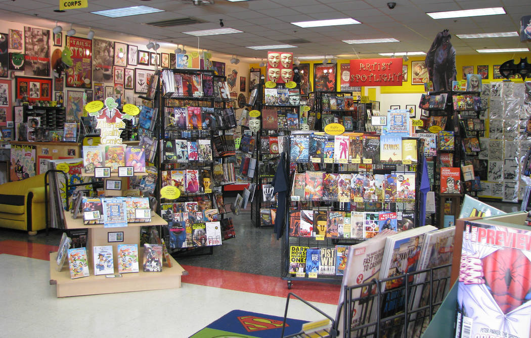 Alternate Reality Comics, 4110 S. Maryland Parkway. (F. Andrew Taylor/View) @FAndrewTPress