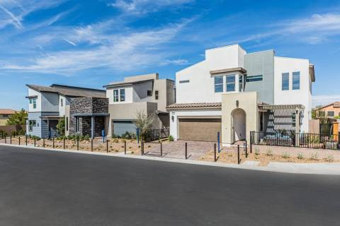 Three model homes debut Aug. 10 at the grand opening of Cirrus by Pardee Homes, off Jones Boule ...