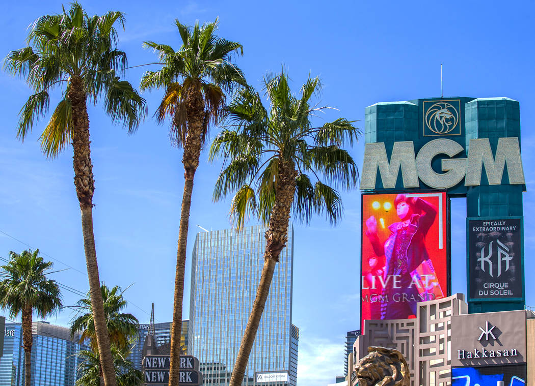 MGM Resorts filed a lawsuit Wednesday, Aug. 7, 2019, challenging the federal approval of a deal ...
