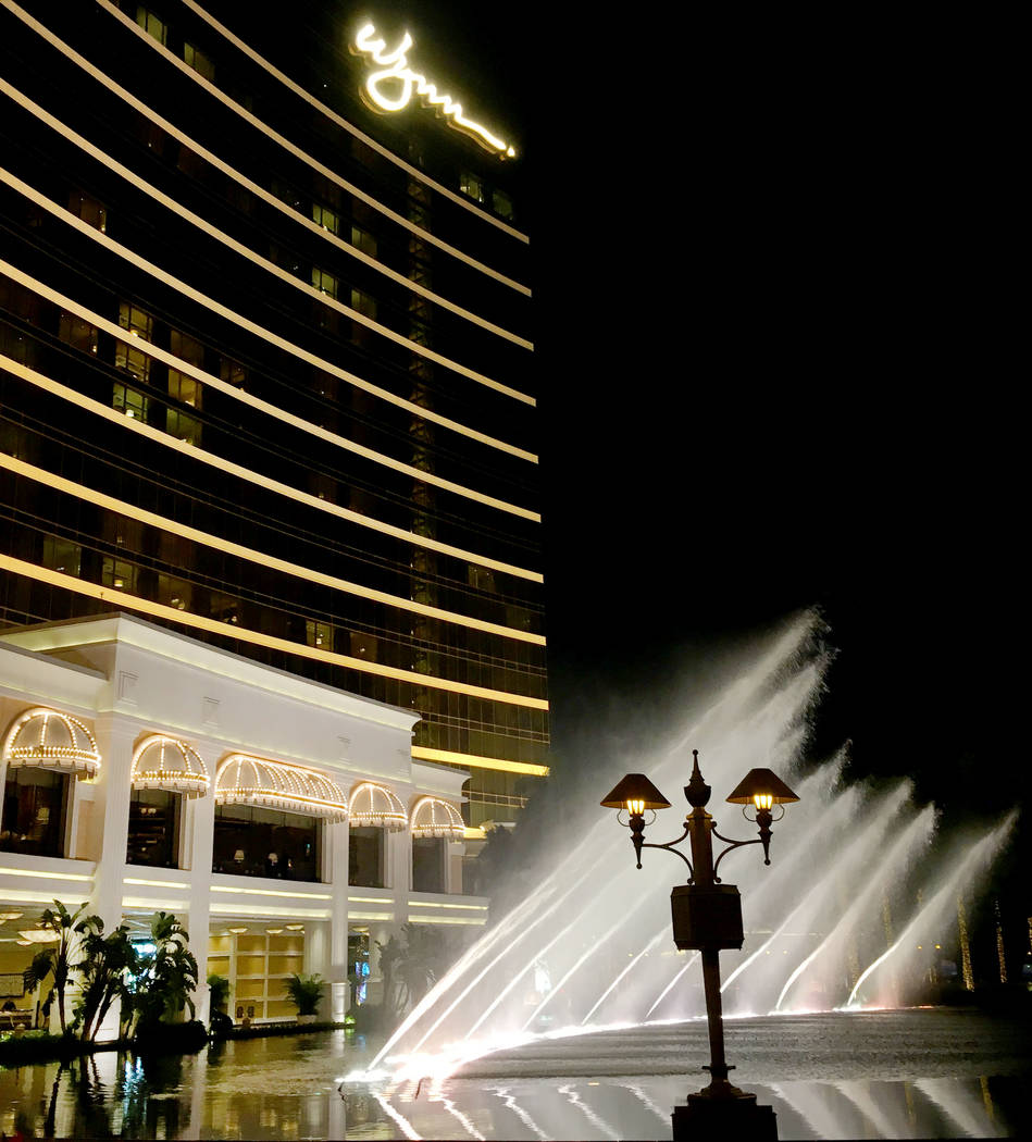 This Jan. 12, 2018 file photo shows the Wynn Macau hotel and casino in Macao. (Chitose Suzuki/L ...