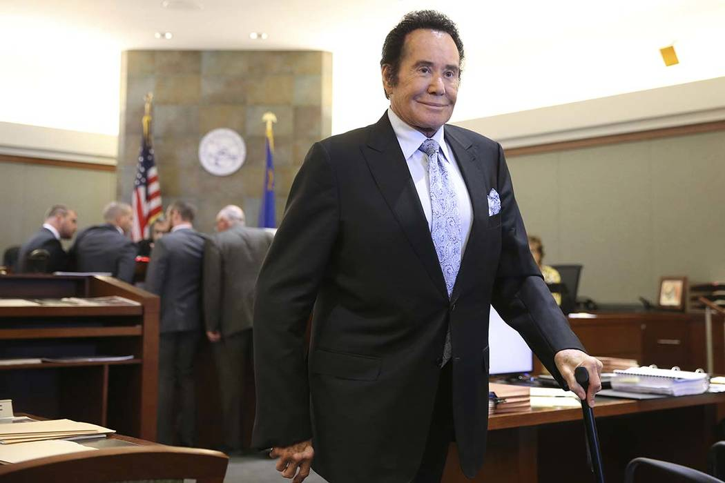 Wayne Newton at the Regional Justice Center in Las Vegas, Tuesday, June 18, 2019. (Erik Verduzc ...