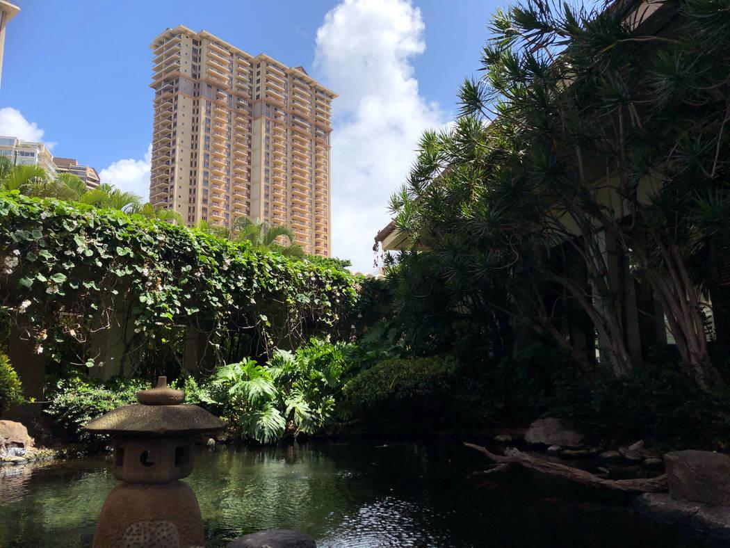 The Grand Waikikian at Hilton Hawaiian Village is shown in Honolulu on Wednesday, Aug. 7, 2019. ...