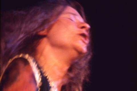 This August, 1969 photo shows Janis Joplin as she performs during Woodstock in Bethel, N.Y. The ...
