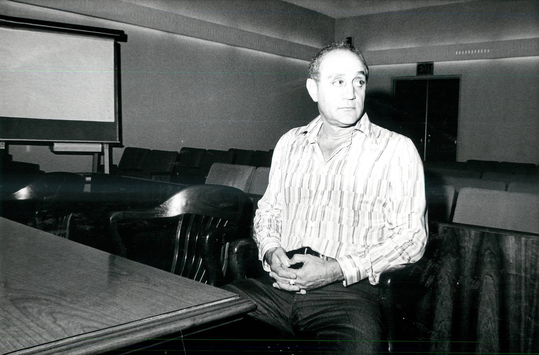 Jerry Tarkanian, pictured in 1977, was an American basketball coach. He coached college basketb ...
