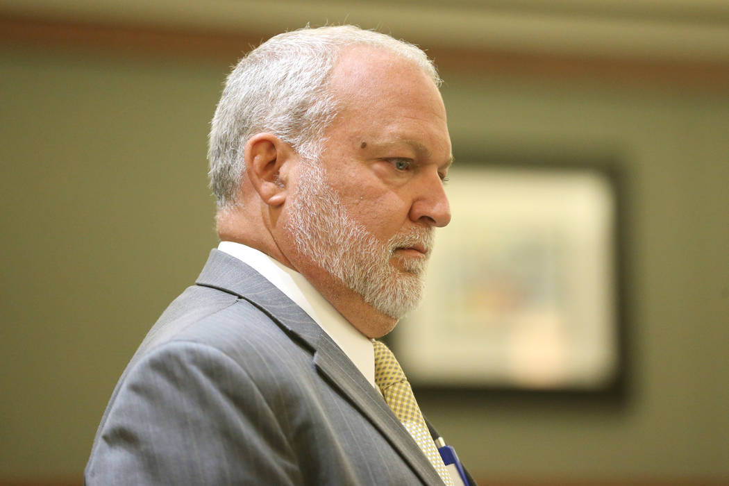 Chief Deputy District Attorney Marc Digiacomo listens to arguments for the case involving Paul ...