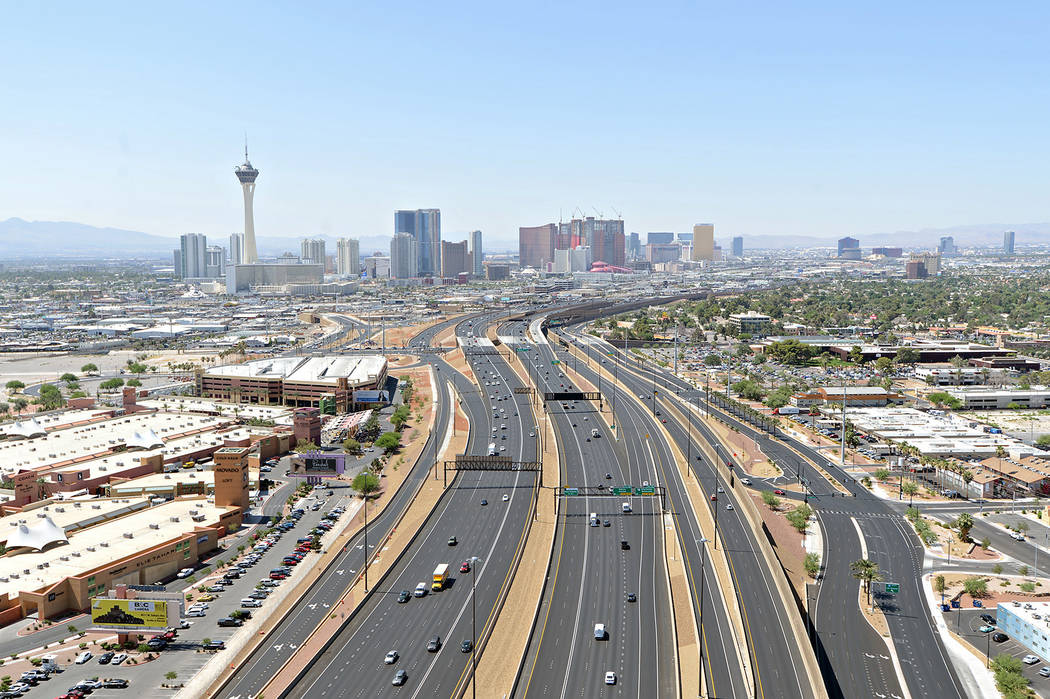 Las Vegas traffic: Project Neon now officially done — VIDEO
