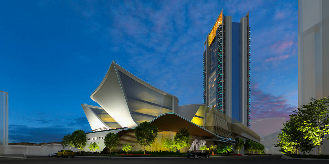 Developer Lorenzo Doumani received Clark County approvals in May for Majestic Las Vegas, a rend ...