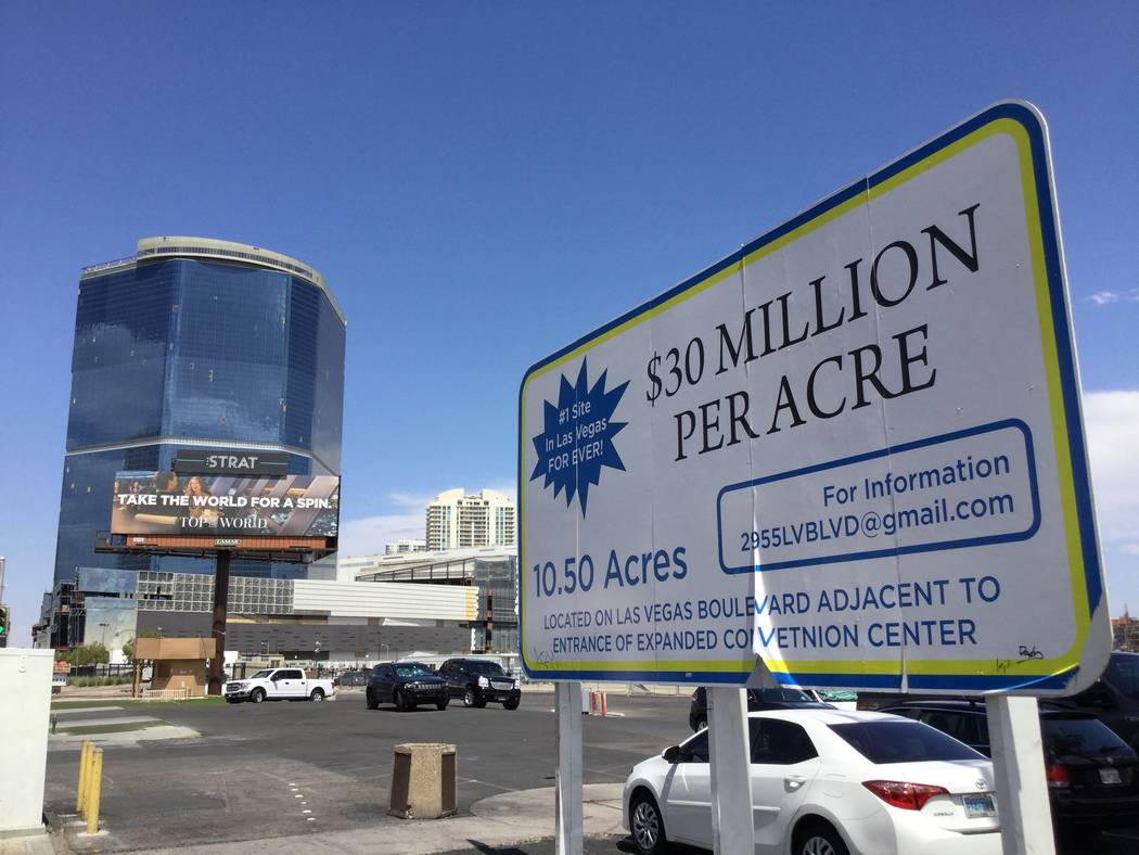 Developer Lorenzo Doumani set out to build a high-rise project on the Las Vegas Strip during th ...