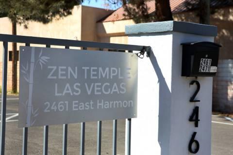 ZEN Temple at 2461 E. Harmon Avenue is seen on Friday, March, 29, 2019, in Las Vegas. (Bizuayeh ...