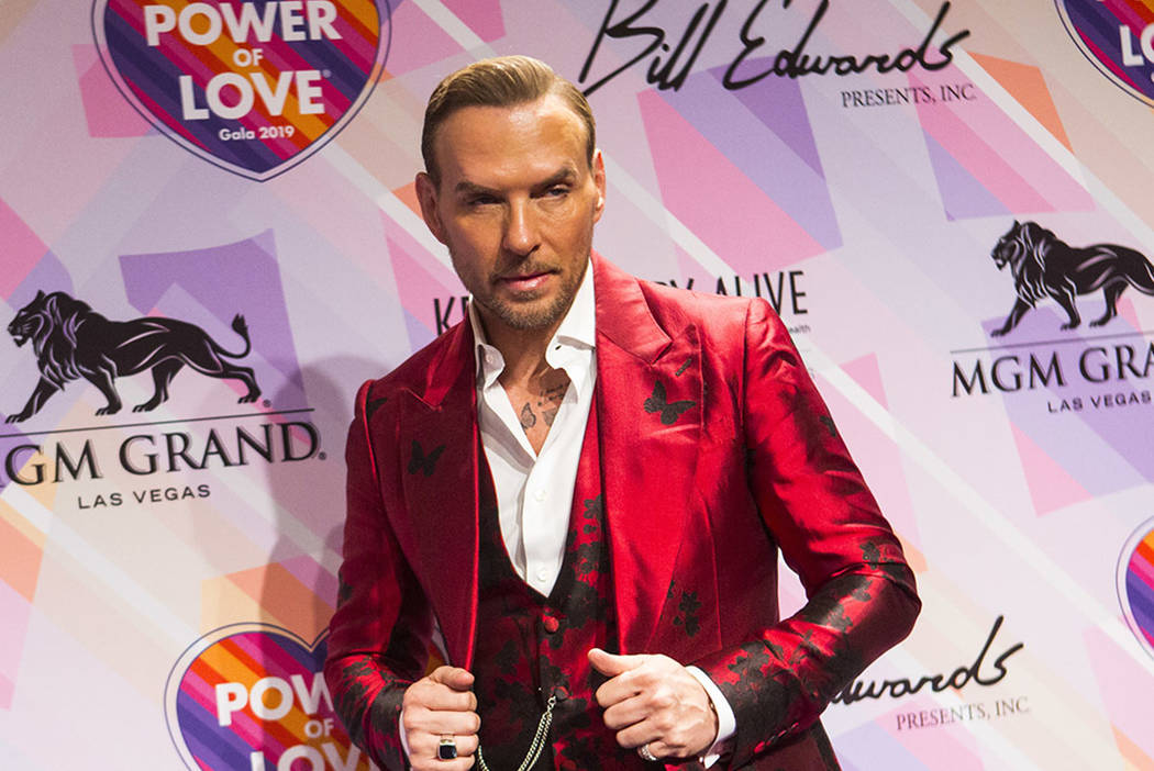 Matt Goss reaches 10th anniversary on Las Vegas Strip | Las Vegas