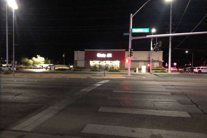 Henderson police shot a teen as he tried to flee after a robbery was reported at a 7-Eleven at ...