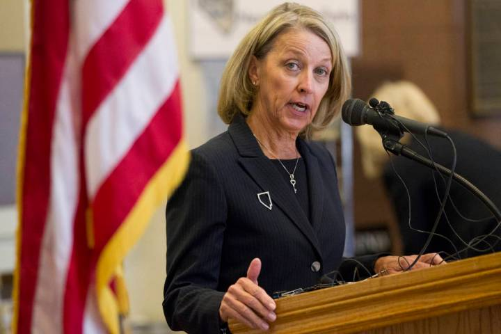 Nevada Secretary of State Barbara Cegavske. Erik Verduzco/Las Vegas Review-Journal Follow @Erik ...