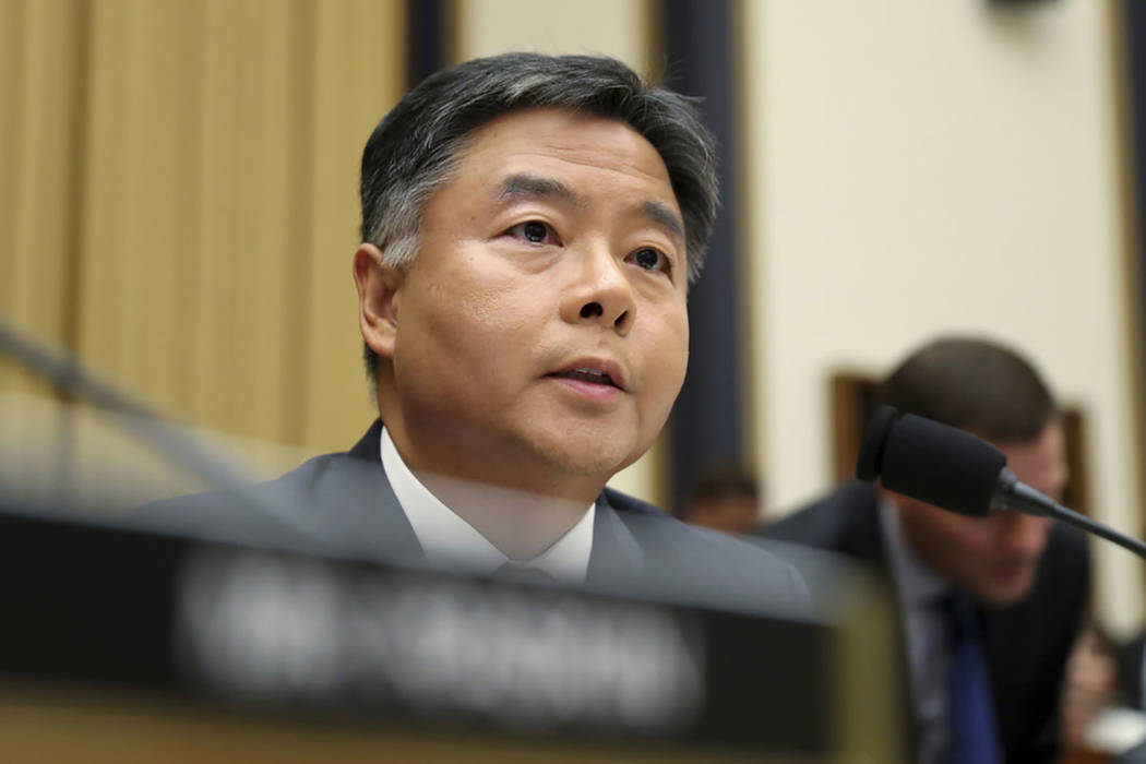Rep. Ted Lieu, D-Calif., seen in July 2019. (AP Photo/Andrew Harnik)