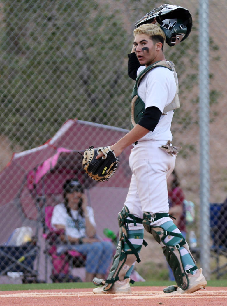 Palo Verde catcher Josiah Cromwick, who played on the Mountain Ridge team during the 2014 Littl ...