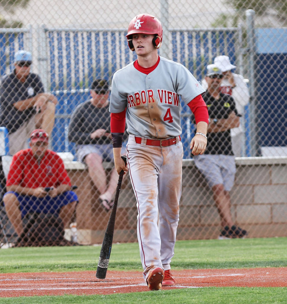 Arbor View infielder Brad Stone, who played on the Mountain Ridge team during the 2014 Little L ...