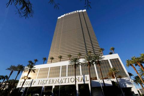 Trump International hotel is seen in Las Vegas, Wednesday, Dec. 12, 2018. (Chitose Suzuki Las V ...